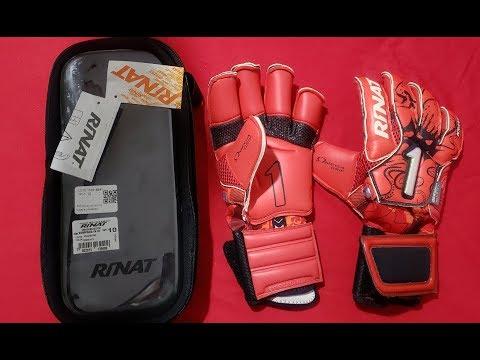 Rinat Kraken NGR NEO PRO / Luva De Goleiro Goalkeeper Red/Black