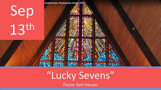 Sept 13 Worship Southminster Presbyterian Church St. Louis Live Stream