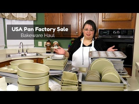 USA Pan Factory Sale Bakeware Unboxing | Williams-Sonoma Goldtouch and Sur La Table Bakeware