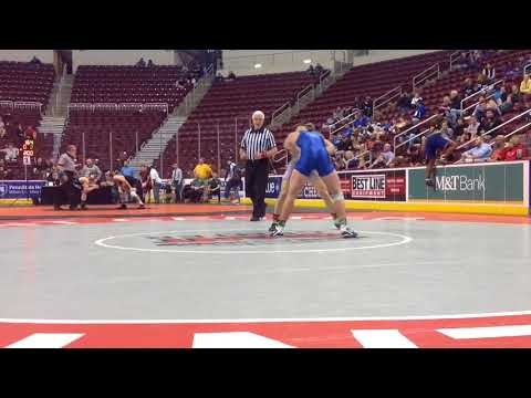 District 3 Class 3A Individual Wrestling Championships Day 1 Highlights - Dauer: 2 Minuten, 54 Sekunden