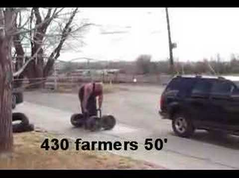 Clay farmers and OH axle
