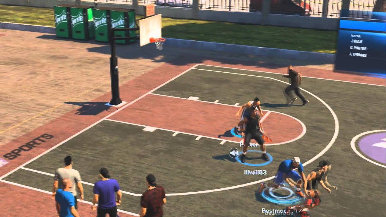 nba 2k14 ps4 mycareer the park 3 on 3 match gameplay youtube