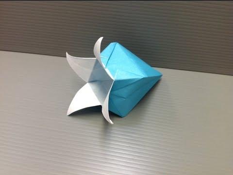 Origami glockenblume anleitung