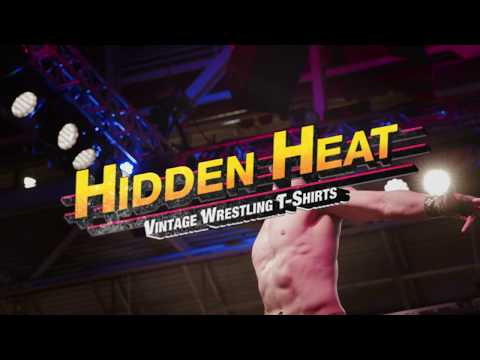 Hidden Heat | Vintage Wrestling T-Shirts at WrestleMania 2018