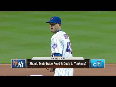 Should the Mets trade Addison Reed and Lucas Duda to the Yankees?