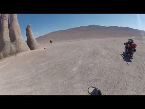Las Manos del Desierto - Moto Grupo Asas da Liberdade