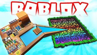 ROBLOX RAFT BUILDER OBBY!