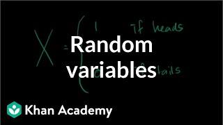 Random variables | Probability and Statistics | Khan Academy thumbnail