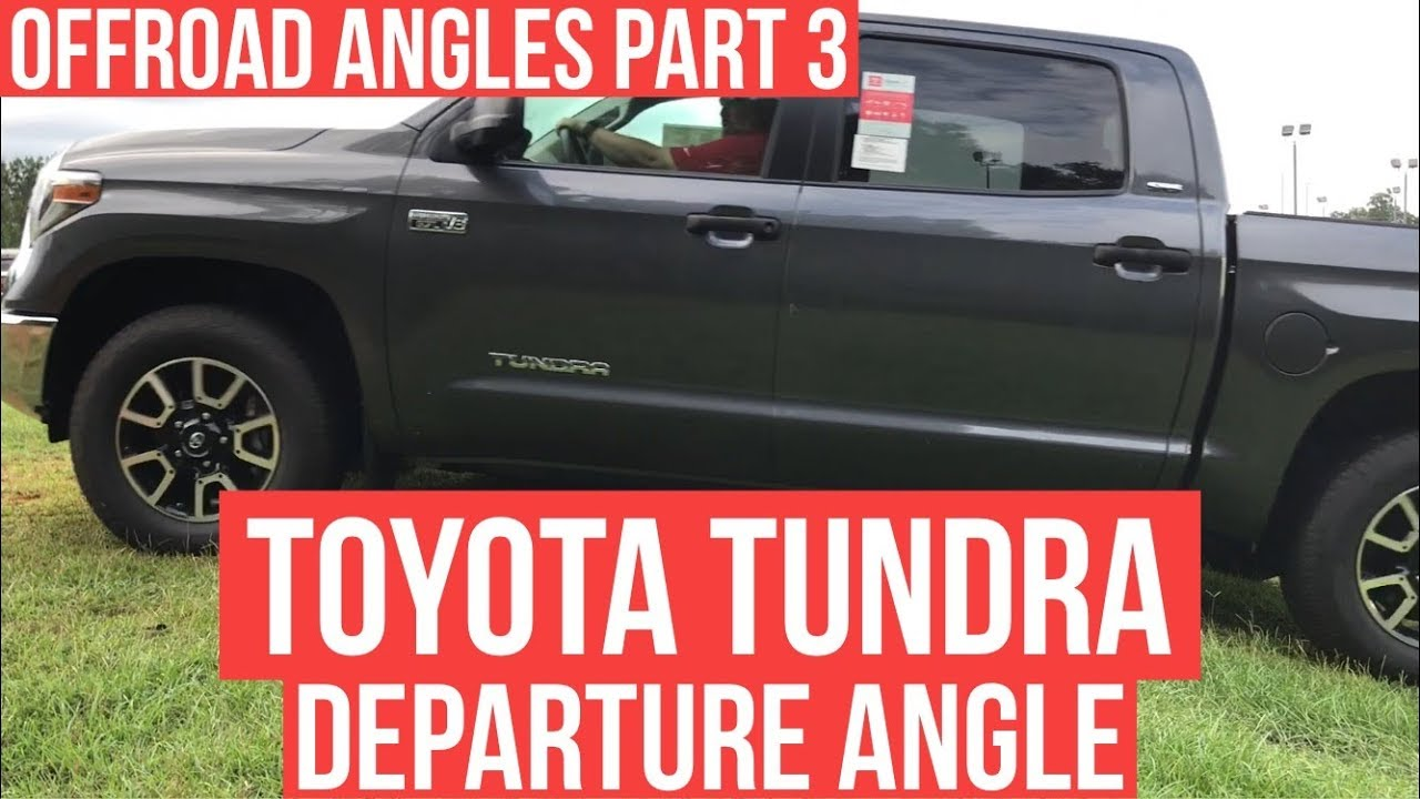 Offroad Angles Part 2 Breakover Angle Of The Toyota Tundra With Jonathan Sewell Sells Enterprise Youtube