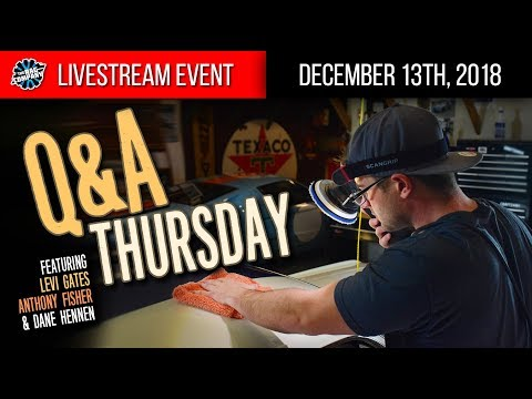 Q&A Thursday: We Answer YOUR Detailing Questions!   December 13th, 2018   THE RAG COMPANY