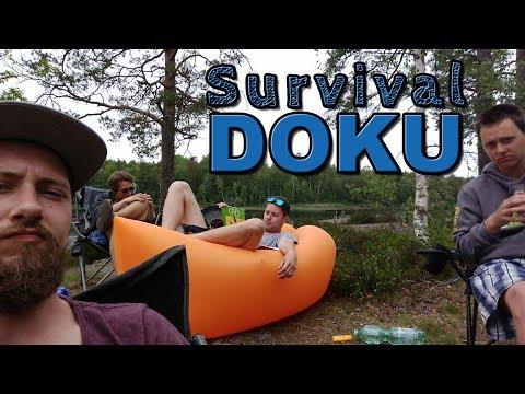 Das halbe Survival am Stora Hällesjön Doku