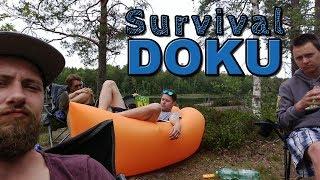 Das halbe Survival am Stora Hällesjön (Doku)