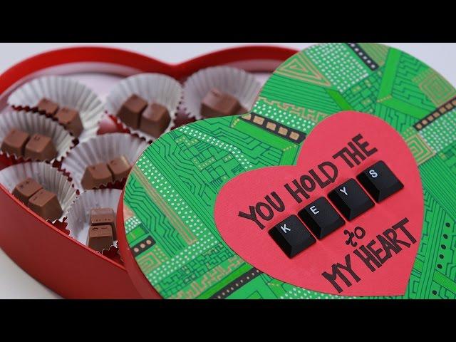 COMPUTER KEYBOARD CHOCOLATES – NERDY NUMMIES