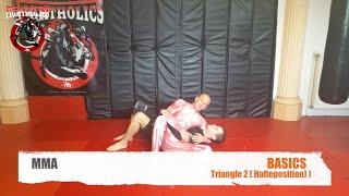 MMA FIGHTING BASIC TRIANGLE 2 HALTEPOSITION
