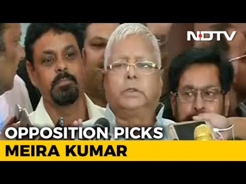 Nitish Kumar, Come Back, Support Meira Kumar For President: Lalu Yadav