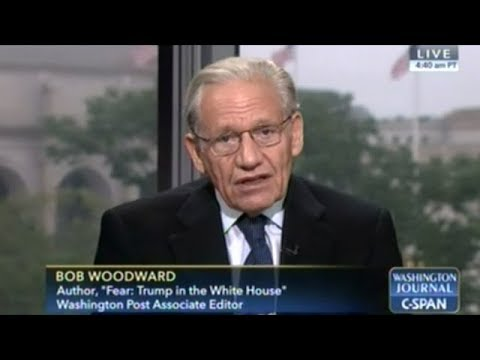 Bob Woodward Skewered By C-SPAN Callers For Over An Hour!