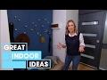 DIY Budget Entryway Makeover | Indoor | Great Home Ideas