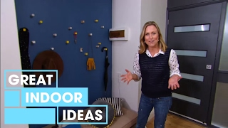 DIY Budget Entryway Makeover | Indoor | Great Home Ideas