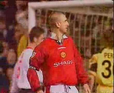 eric cantona goal and celebration