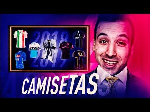 LAS EQUIPACIONES DE FUTBOL MAS BONITAS PARA LA TEMPORADA 2018/2019 - 동영상