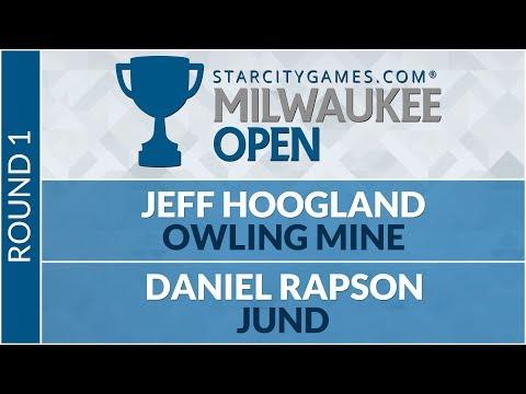 SCGMKE - Round 1 - Jeff Hoogland Vs Daniel Rapson [Modern]