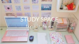 study space tips + tour