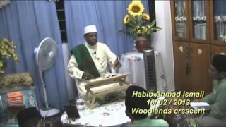 Habib Ahmad Ismail : Orang yang Tawaduk pada Allah pasti Allah memuliakan nya.