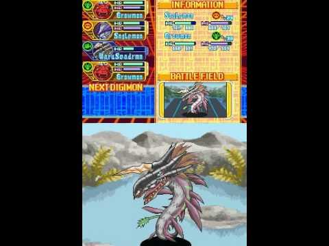 Digimon World Dawn - Sortie to Loop Swamp - WaruSeadramon ... on digimon world dawn action replay codes, digimon world dawn artwork, digimon world dawn review, digimon world dawn sprites, digimon world dawn guide,