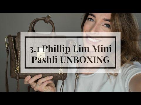 3.1 Phillip Lim Pashli Mini Satchel Taupe Unboxing & Overview | CIARA O DOHERTY