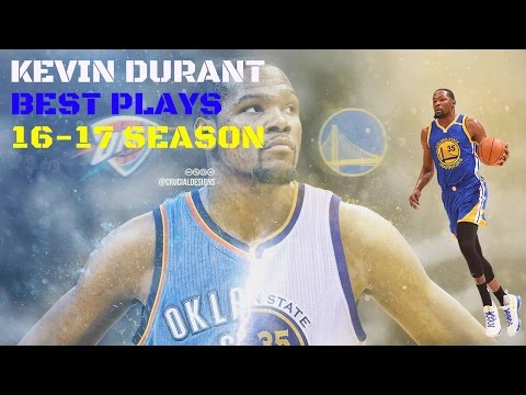 Kevin Durant Highlight Mix-BEST HIGHLIGHTS 16-17