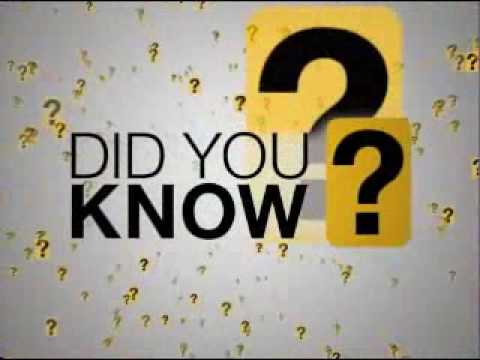Did You Know - Information Technology Revolution