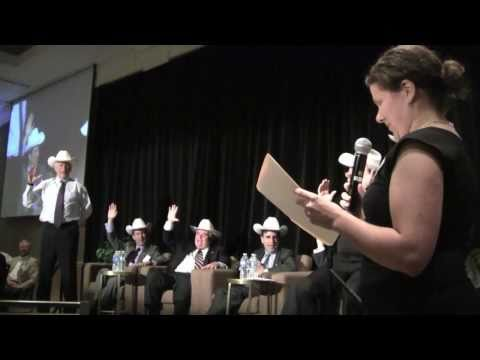 White Hat Ceremony - Commodities, the Economy and Money Conference - June 23, 2011