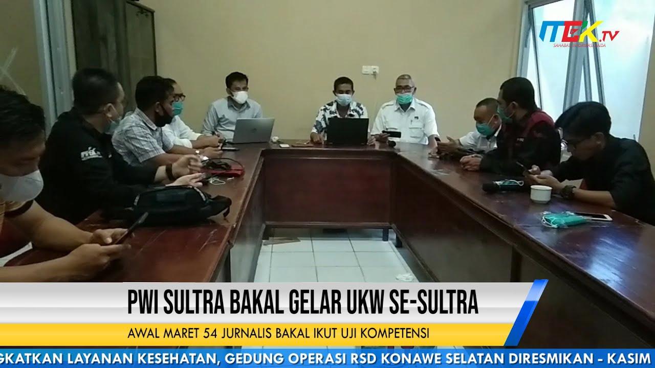 PWI Sultra Bakal Gelar UKW Se Sultra, Awal Maret 54 Jurnalis Bakal Ikut Uji Kompetensi