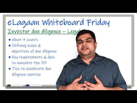 Investor due diligence - Legal Agreements & Contracts [Whiteboard Friday]
