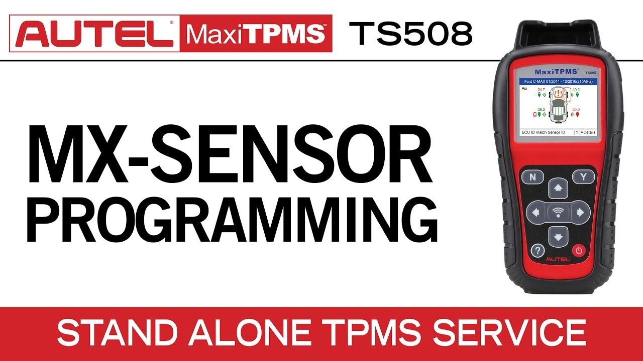 Autel MaxiTPMS TS508 — MX-Sensor Programming