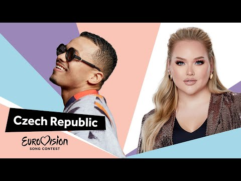 Eurovisioncalls Benny Cristo - Czech Republic 🇨🇿 with NikkieTutorials