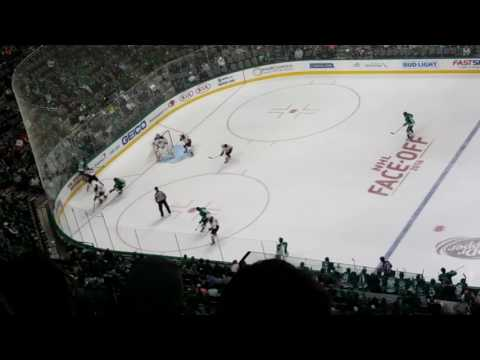 Dallas Stars goal live! Goal horn and song
