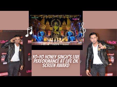 Shahrukh Khan Yo Yo Honey Singh's Live...