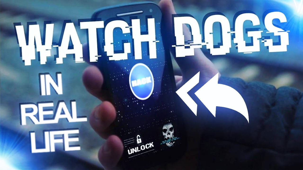 WATCH DOGS in REAL LIFE!!