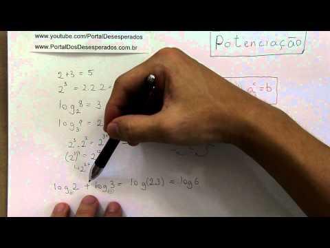 Aprenda logaritmo em 10 minutos
