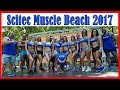 3 Days Scitec Muscle Beach 2017, sexy Girls & BigBoys ! Pro Bodybuilder in The House