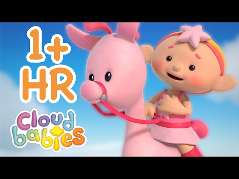 Cloudbabies - Race Around the World | 60+ minutes | One Hour of Cartoons for Kids