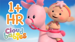 Cloudbabies - Race Around the World   60+ minutes   One Hour of Cartoons for Kids