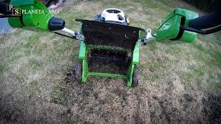 видео Весенняя подготовка газона