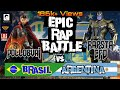 BRAZIL vs ARGENTINA Epic Rap Battle POLLOBVAI ft RAPSTA