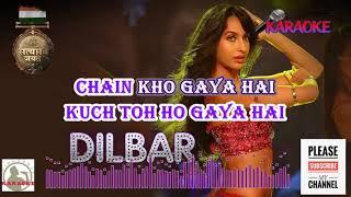 DILBAR Satyamev Jayate HQ Karaoke with Scrolling Lyrics
