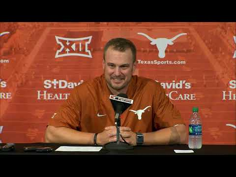 None - Herman reacts to Texas' victory over TCU