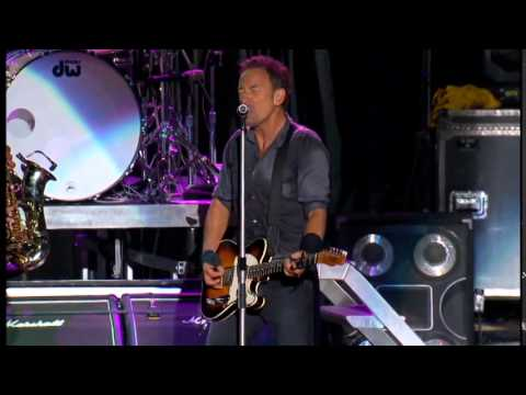 Land of hope and dreams - dallas pro shot - Bruce springsteen