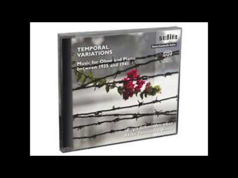 Temporal Variations, Music for Oboe and Piano between 1935 and 1941 Audite SACD AU92539