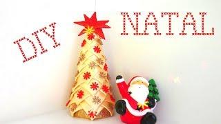 DIY NATAL – Árvore de Natal com Fitas
